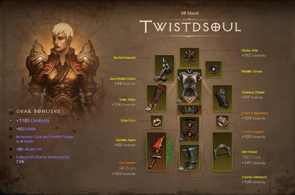 Diablo III - My Character   oprainfall