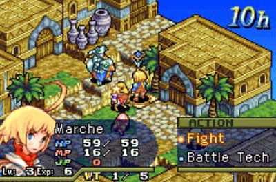 gba tactical games