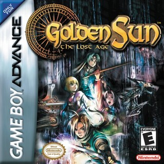 Golden Sun The Lost Age | Box Art