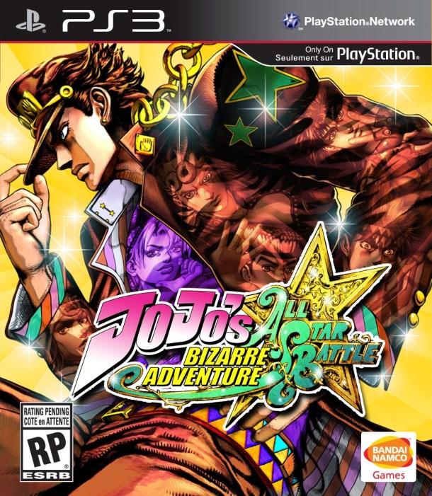 JoJo's Bizarre Adventure - All-Star Battle - Box Art (NA)