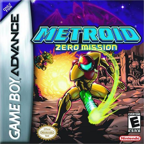 Metroid Zero Mission Box Art | Most Wanted Game Boy Advance Games for Virtual Console