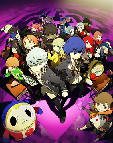 Persona Q - Media Create | oprainfall