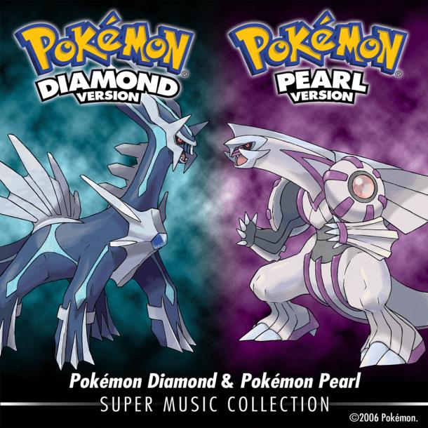 Pokémon Diamond & Pokémon Pearl: Super Music Collection - Cover Art   oprainfall