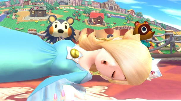 Rosalina on the Animal Crossing Stage - Smashing Saturdays | oprainfall