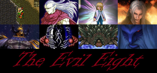The Evil Eight—Operation Madness: RPG Villain Tournament | oprainfall