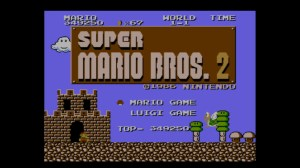 Super Mario Bros.: The Lost Levels | Title Screen
