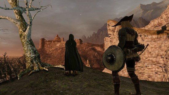 Dark Souls II | The Emerald Herald in Majula