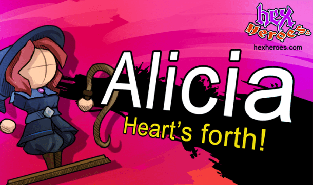 Hex Heroes: Alicia from Heart Forth, Alicia - Grant Kirkhope, Hex Heroes AMA | oprainfall