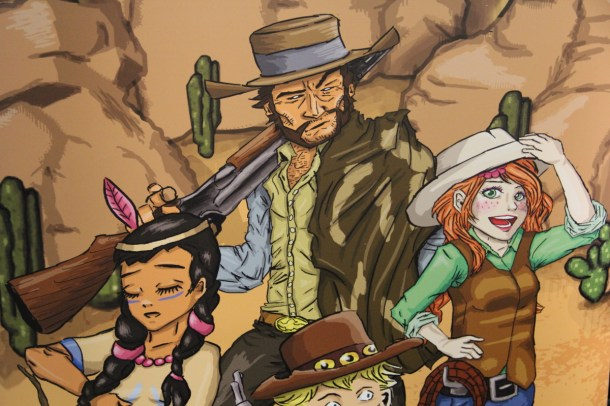 Boot Hill Heroes Characters—PAX East 2014   oprainfall