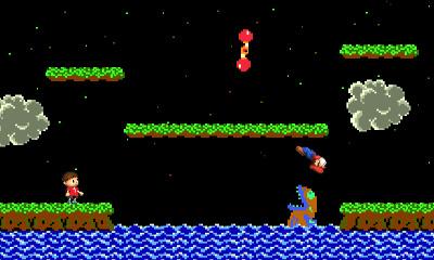 Mario vs. Villager at Balloon Fight Stage - Smashing Saturdays | oprainfall