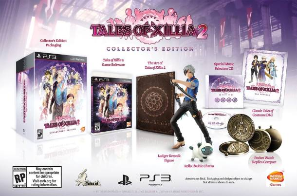 Tales of Xillia 2 Collector's Edition - North America   oprainfall