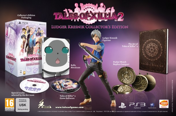 Tales of Xillia 2 Collector's Edition - Europe | oprainfall