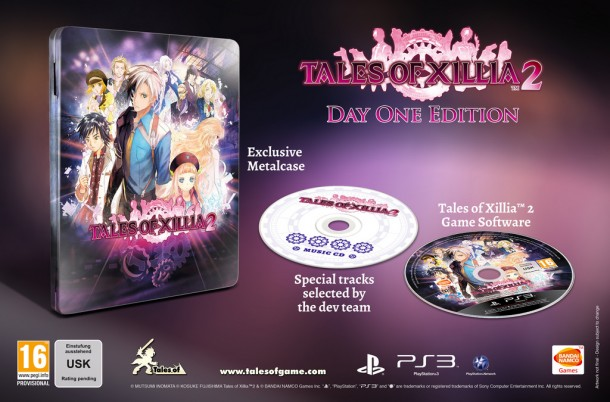Tales of Xillia 2 Day 1 Edition - Europe   oprainfall