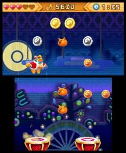 Kirby: Triple Deluxe - Dedede's Drum Dash   oprainfall