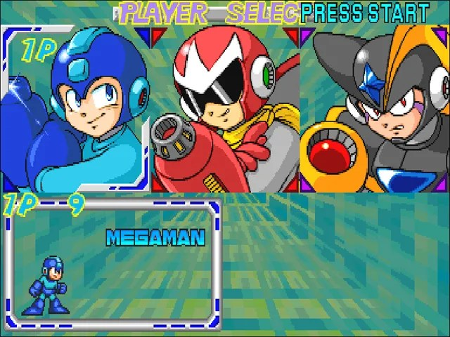 Megaman Power Battle | Character Select