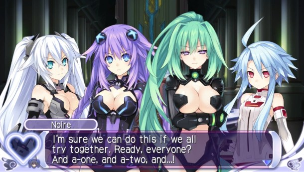 Hyperdimension Neptunia PP | Group