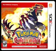 Pokémon Omega Ruby Box