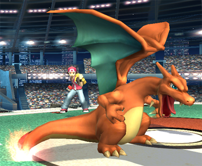 Smashing Saturdays - Character of the Week: Pokemon Trainer - Charzard | oprainfall