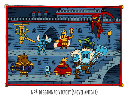No. 7: Digging to Victory (Shovel Knight) | Pop Middle Ages