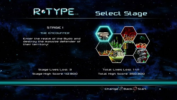 R-Type Dimensions | Stages