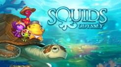 Squids Odyssey - Title Screen