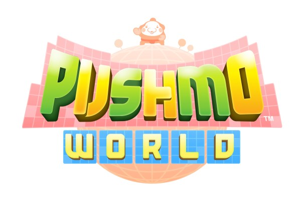 Pushmo World - Logo | oprainfall