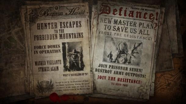 The Incredible Adventures of Van Helsing II |Newspaper