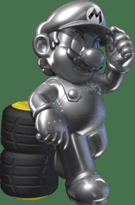 Mario Kart 8 - Metal Mario | oprainfall