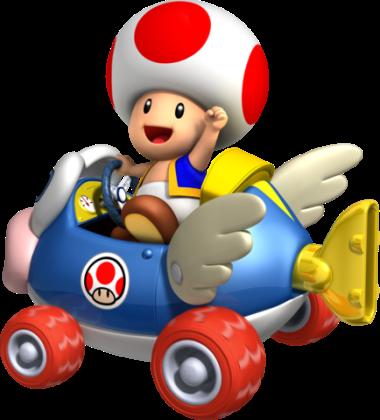 Mario Kart 8 - Toad | oprainfall