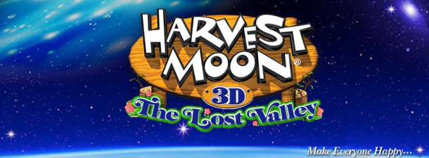 Harvest Moon: The Lost Valley Banner