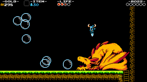 Shovel Knight Bubbles