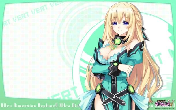 Hyperdimension Neptunia | Green Heart