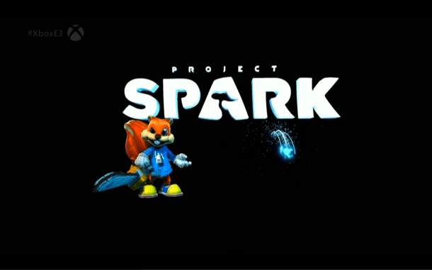 E3 2014 Microsoft Conference - Project Spark with Conker