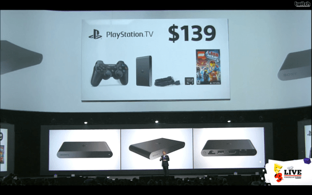 E3 2014 Sony Conference - PlayStation TV