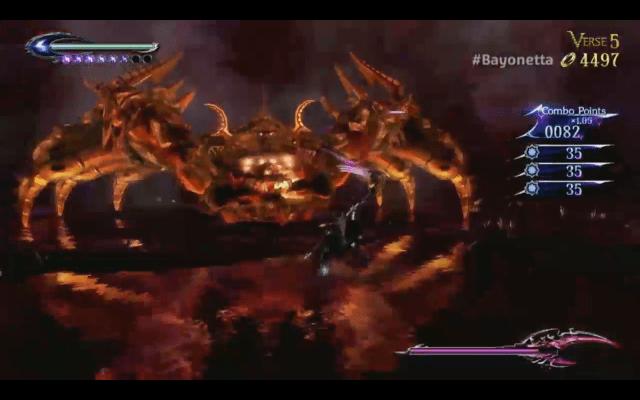 Bayonetta 2 - spider