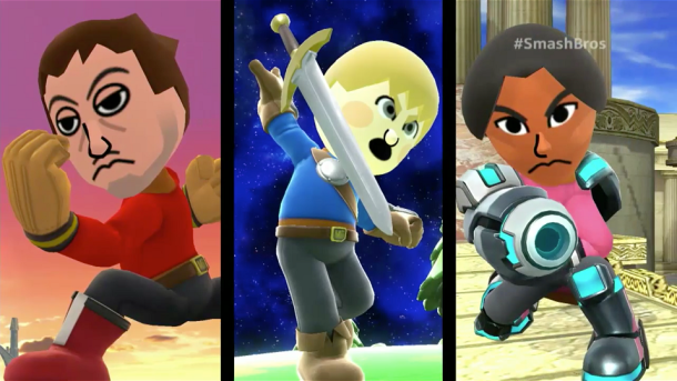Smash Bros - Miis | oprainfall