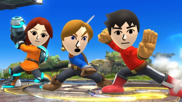 Smashing Saturdays: Super Smash Bros. - Mii Fighters | oprainfall