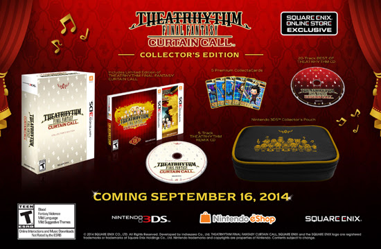 Theatrhythm Final Fantasy: Curtain Call - Collectors Edition | oprainfall