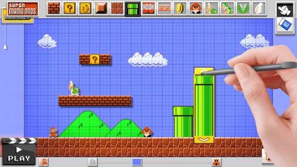 Mario Maker's Super Mario Bros. (NES) Theme
