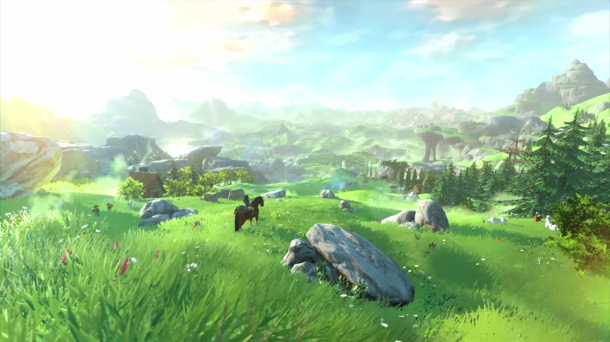 Zelda Wii U Screen