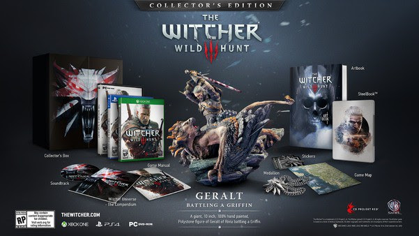 The Witcher 3 - Collector's Edition | oprainfall