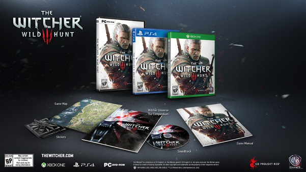 The Witcher 3 - Pre-order   oprainfall