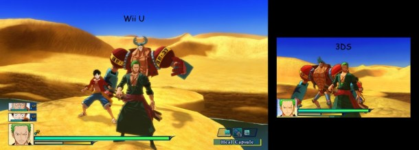 One Piece Unlimited World Red | Graphics Comparision