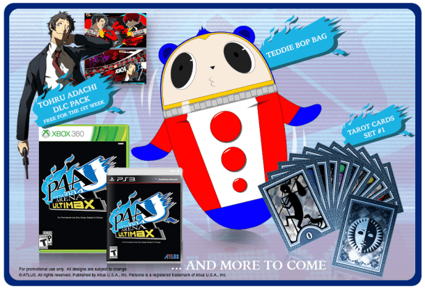 Persona 4 Arena Ultimax - Swag and Adachi DLC | oprainfall