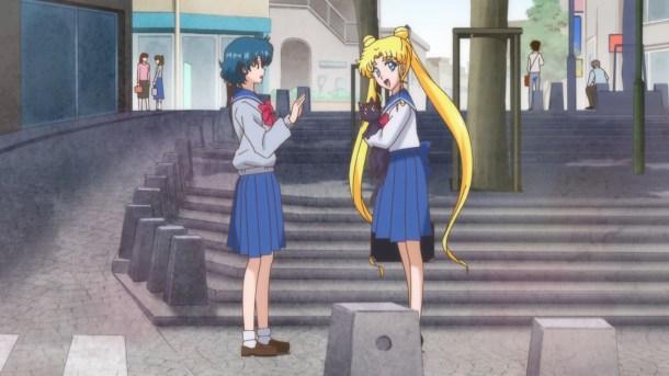 Ami Meets Usagi | Sailor Moon Crystal Episode 2