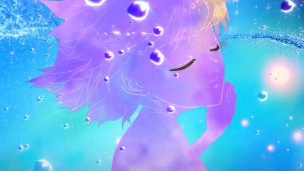 Sailor Mercury Transforms | Sailor Moon Crystal Episode 2