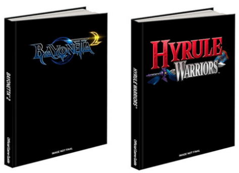 Hardcover Guides - Hyrule Warriors and Bayonetta 2 | oprainfall