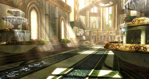 Bayonetta 2 | In-game Palace