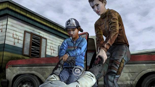 The Walking Dead - Amid the Ruins   Walker Drag