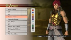 Samurai Warriors 4 - Create Character (2)